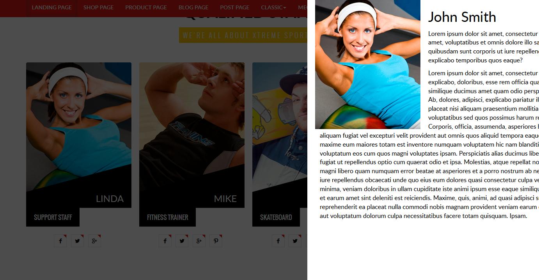 X- Sport Club - HTML Template