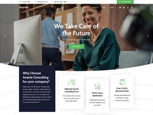 首頁全螢幕網頁設計